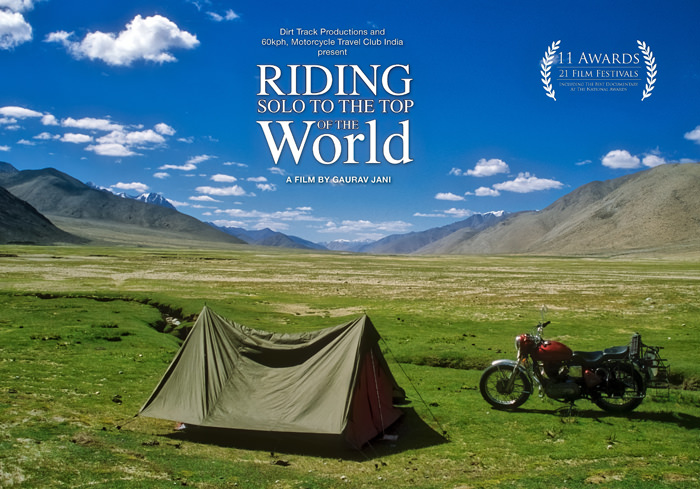 riding solo to the top of the world poster