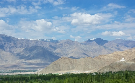 Arrive in Leh