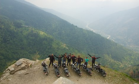 Leave from Manali