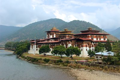 Motorcycle tour to Bhutan in the Himalayas