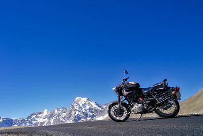 Motorcycle tour to Sikkim