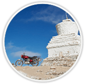 Budget & luxury bike tours to Ladakh in the Western Himalayas