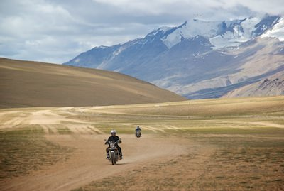 Motorcycle tour to Ladakh in the Himalayas