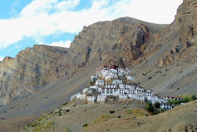 Motorcycle tour to Spiti in the Himalayas